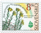 European Nature Conservation Year - Onosma tornense