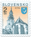 Nitra   (Definitive stamp)