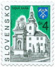 Nová Baňa   (Definitive stamp)