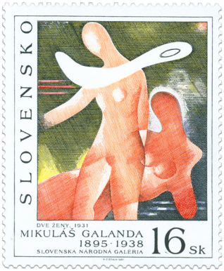 Umenie - Mikuláš Galanda: Dve ženy