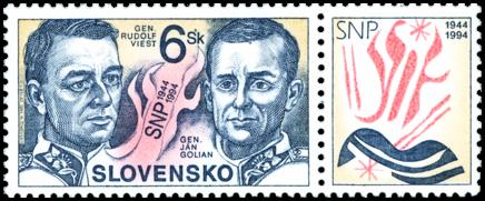50. výročie SNP - Generáli Viest a Golian