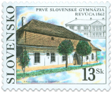 First Slovak Gymnasiums Revúca (1862)