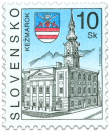 Kežmarok   (Definitive stamp)