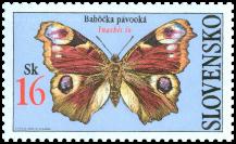 Motýle - Babôčka pávooká