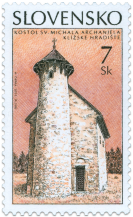 Kostol sv. Michala, Klížske Hradište