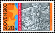 30. výročie letu Apolla 17 na Mesiac - E. A. Cernan
