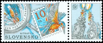 Deň poštovej známky - NITRAFILA