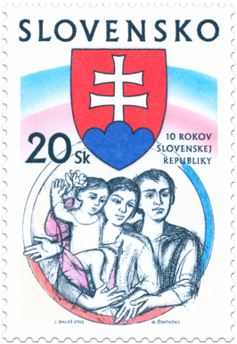 10.výročie Slovenskej republiky