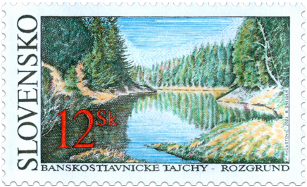 Banskoštiavnické tajchy - Rozgrund  (Lake Rozgrund)