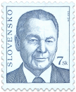 President of SR Rudolf Schuster   (Definitive stamp)