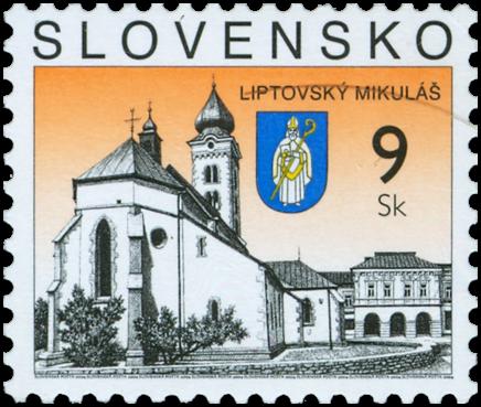 Liptovský Mikuláš   (Definitive stamp)
