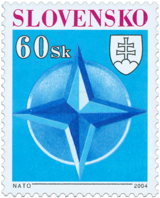 Entry to the NATO   (Definitive stamp)