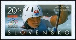 Vodný slalom K1 ženy,  Atény 2004