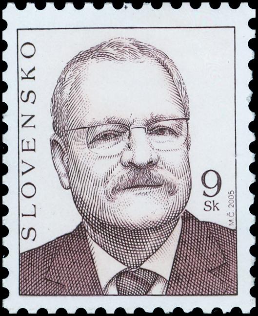 Známka Prezident SR Ivan Gašparovič (výplatná)