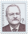 President of SR Ivan Gašparovič   (Definitive stamp)