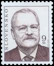 Prezident SR Ivan Gašparovič   (výplatná)