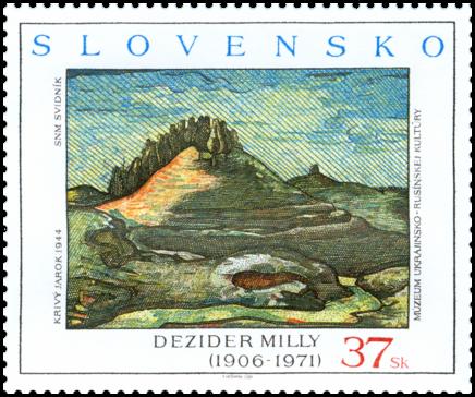 Umenie - Dezider Milly: Krivý jarok, 1944