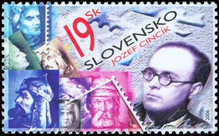 Deň poštovej známky - Jozef Cincík