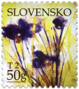Greeting stamp - Bunch of Flowers