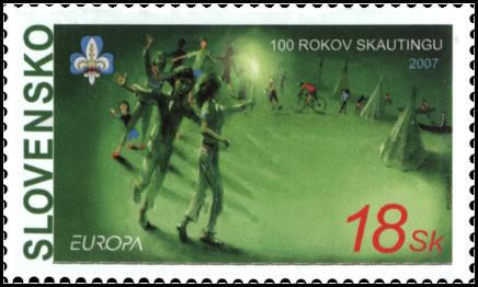 EUROPA 2007 – 100 Years of Scauting
