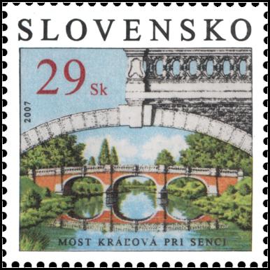 Technical Monuments – Bridge Kráľová at Senec