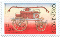 Technical Monuments – Fire-fighting Equipment, Four-wheel hand-operated pumper 1872