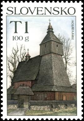 Krásy našej vlasti – Drevený kostolík Hervartov