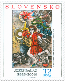 Art – Jozef Baláž, Illustration from the Book Seven-coloured Flower