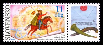 Postage stamp day - 1st Post Train Bratislava - Ružomberok - Košice
