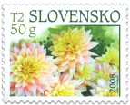 Dahlia - stamp with personalised coupon