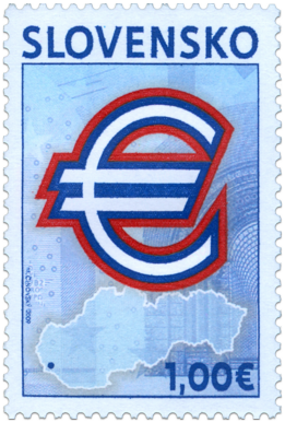 Commemorative Issue of the First Euro Stamp