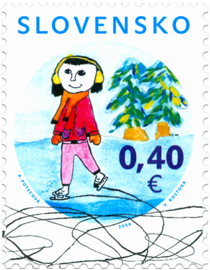Vianoce 2009: Zimný motív