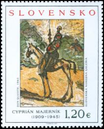Art: Cyprián Majerník (1909 - 1945)