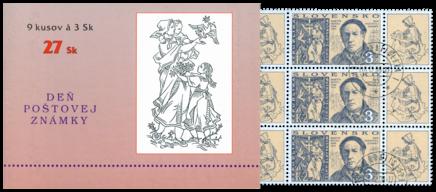 Deň poštovej známky - Martin Benka