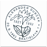 """Alexander Dubček 1921-1992"""