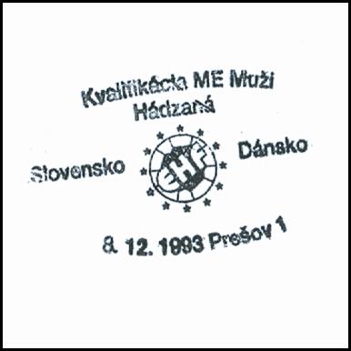 """""""Kvalifikácia ME hádzaná muži Slovensko - Dánsko"""""""