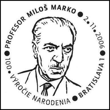 Profesor Miloš Marko – 100. výročie narodenia