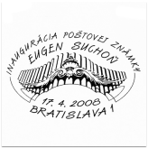 Inaugurácia poštovej známky - Eugen Suchoň