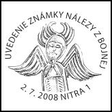 Uvedenie známky Nálezy z Bojnej