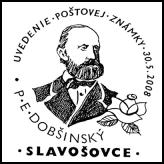 Uvedenie poštovej známky P. E. Dobšinský