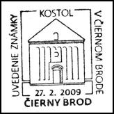 Uvedenie známky v Čiernom Brode