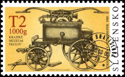 Technické pamiatky – Hasičská technika, F. Seltenhofer 1880