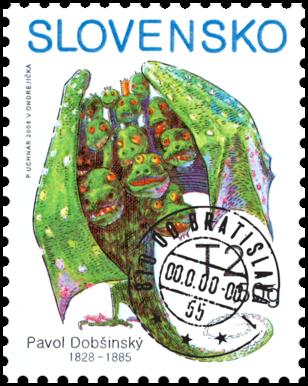 Známka deťom, Pavol Dobšinský