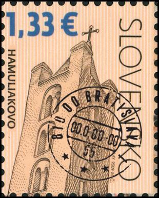 Kostol sv. Kríža v Hamuliakove