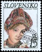 Krásy našej vlasti - Kroje - Ženský čepiec z Heľpy