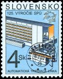 125. výročie Svetovej poštovej únie - Automatická triediaca linka