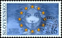 50. výročie založenia Rady Európy