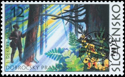 Lesy SR - Dobročský prales