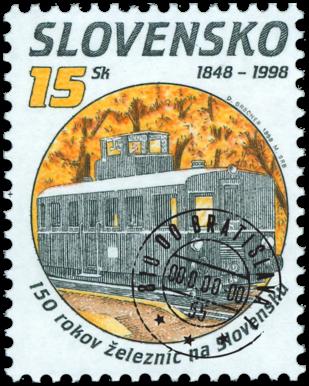150 rokov železníc na Slovensku - motorový vozeň