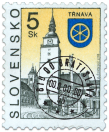 Trnava   (Definitive stamp)